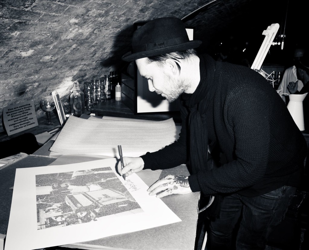 """OIC - ENTSIMAGES.COM - Tim Muddiman at the Fine Art Photography Exhibition By Gemma Reynolds Photography launching her unseen fine art Rock'N'Roll December """"gem rey"""" collection in London 4th December 2015 Photo Mobis Photos/OIC 0203 174 1069"""