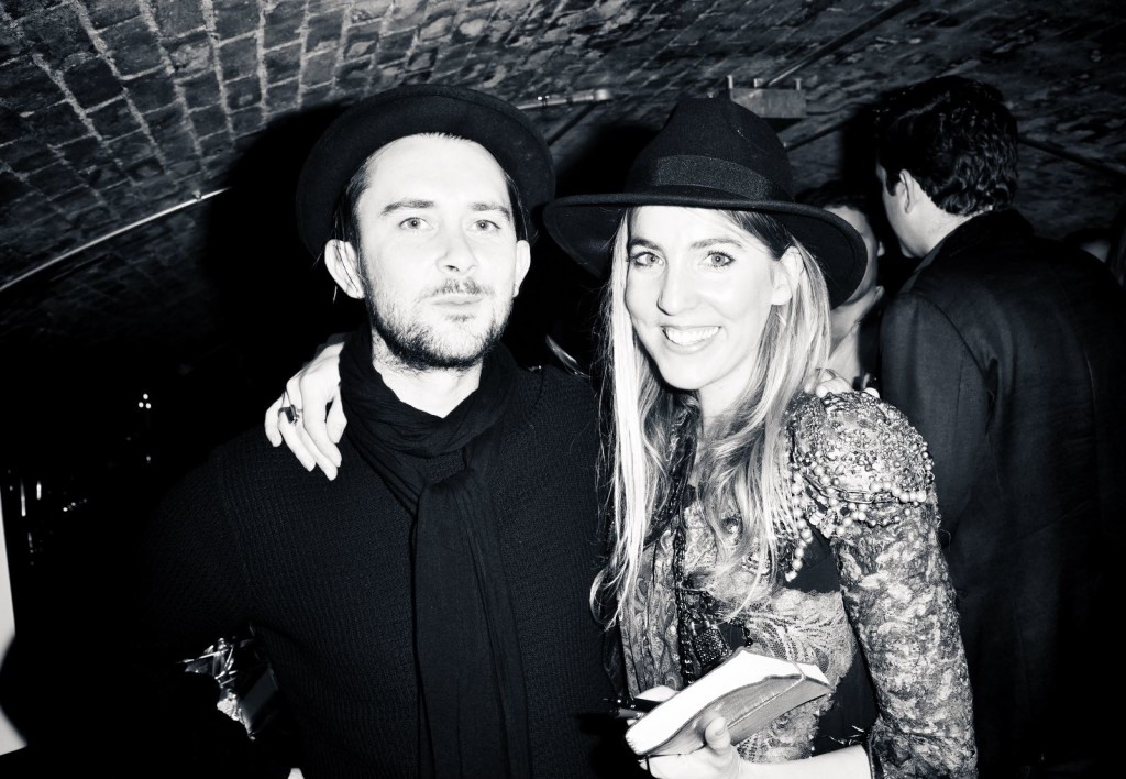 """OIC - ENTSIMAGES.COM - Gemma Reynolds and Tim Muddiman at the Fine Art Photography Exhibition By Gemma Reynolds Photography launching her unseen fine art Rock'N'Roll December """"gem rey"""" collection in London 4th December 2015 Photo Mobis Photos/OIC 0203 174 1069"""