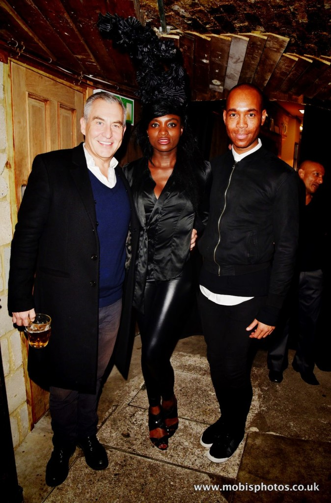 """OIC - ENTSIMAGES.COM - Damon Rochefort at the Fine Art Photography Exhibition By Gemma Reynolds Photography launching her unseen fine art Rock'N'Roll December """"gem rey"""" collection in London 4th December 2015 Photo Mobis Photos/OIC 0203 174 1069"""
